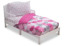 Pink Clouds 4-Piece Toddler Bedding Set - Kid bundle - Pink Clouds (2003)