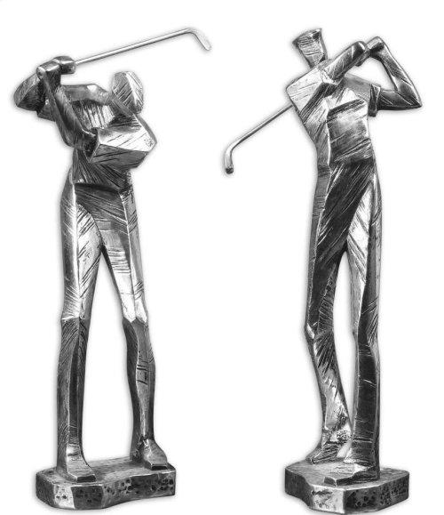 Practice Shot Figurines, S/2