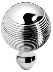 "Antique Brass Unlacquered Contour door knobs pair, 2 1/4"" diameter"
