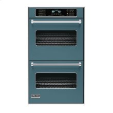 """Iridescent Blue 30"""" Double Electric Touch Control Premiere Oven - VEDO (30"""" Wide Double Electric Touch Control Premiere Oven)"""