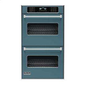 "Iridescent Blue 30"" Double Electric Touch Control Premiere Oven - VEDO (30"" Wide Double Electric Touch Control Premiere Oven)"