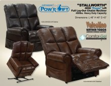 Power Lift Recliner - Chestnut