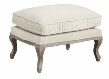 Salerno - Ottoman-sand Gray Finish W/cushion-cream