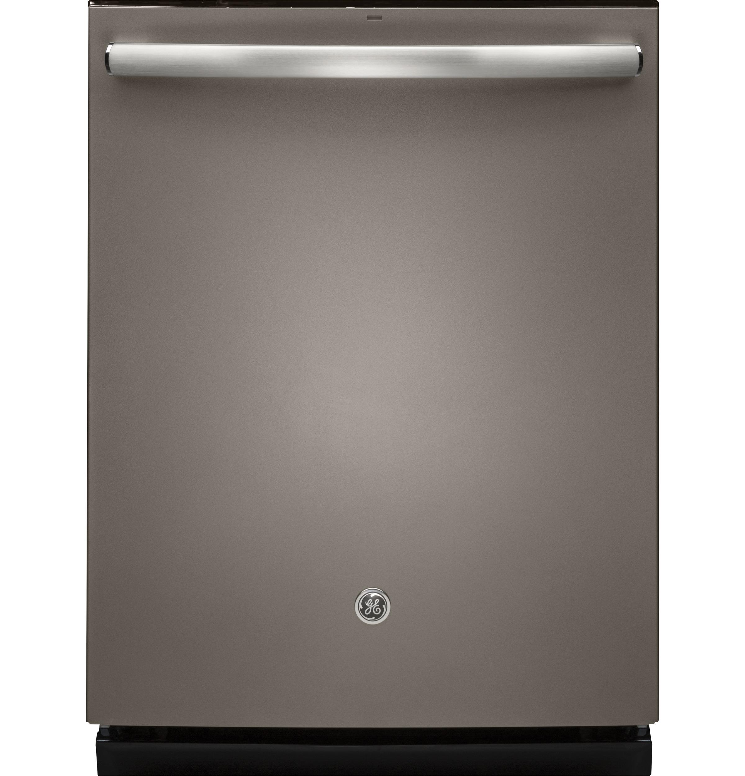 Ge Stainless Steel Interior Dishwasher With Hidden Controls Built In Dishwashers Dishwashers
