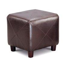 Cube Ottoman Brown
