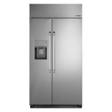 """Discovery 42"""" Built-In Side-by-SideRefrigerator, in Stainless Steel with Pro Style Handle"""