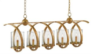 Maximus Rectangular Chandelier - 16h x 47w x 13d