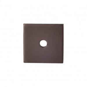 Square Backplate 1 Inch - Oil Rubbed Bronze