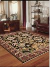 Nourmak Sk70 Black Rectangle Rug 5'10'' X 8'10''