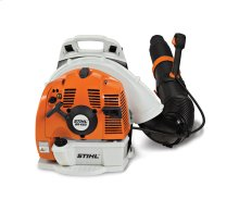A professional 2-stroke blower with plenty of power to get the job done.
