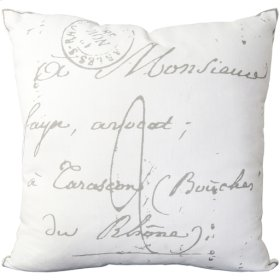 """Montpellier LG-512 22"""" x 22"""" Pillow Shell with Down Insert"""