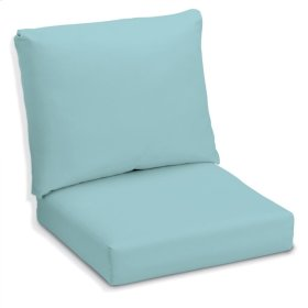 Siena Deep Seating Cushion Set - Canvas Mineral Blue