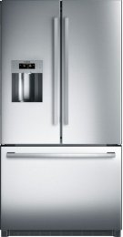 """800 Series 36"""" Freestanding Standard-Depth French Door Refrigerator, B26FT50SNS, Stainless Steel Product Image"""
