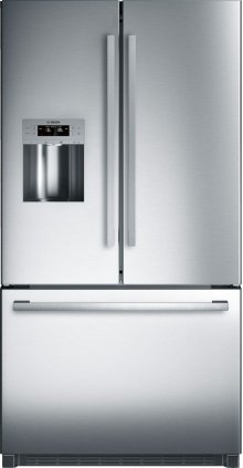 "800 Series 36"" Freestanding Standard-Depth French Door Refrigerator, B26FT50SNS, Stainless Steel"