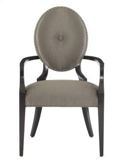 Jet Set Arm Chair in Jet Set Caviar (356)