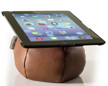 The Saddle Ipad Holder, Leather, Parquet