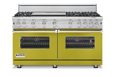 """60"""" Custom Sealed Burner Range, Natural Gas"""