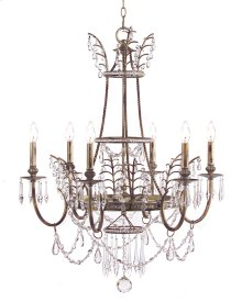 Versailles Six-Light Chandelier