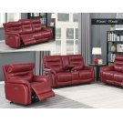 """Fortuna Recliner Console Love Pwr/Pwr Wine 73.5""""x38""""x41"""" Product Image"""