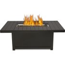 St. Tropez Rectangle Patioflame Table , Bronze , Propane Product Image