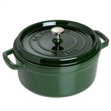 Staub Cast Iron 2.75-qt Round Cocotte, Basil