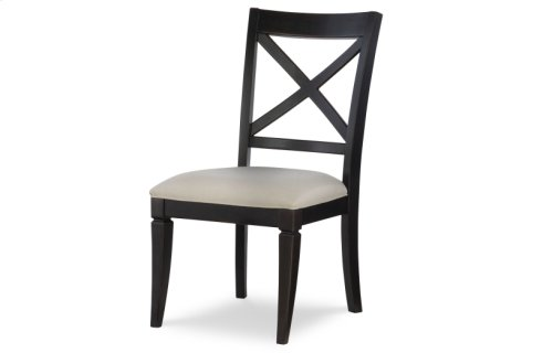 Everyday Dining by Rachael Ray X Back Side Chair - Peppercorn