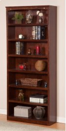 Harvard 84in Book Shelf in Walnut Product Image