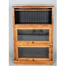 "#522-3 Lawyer Bookcase 3 piece 33""wx14""dx49.5""h Product Image"