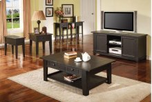 Liberty TV Cabinet, Antique Black