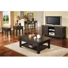Liberty TV Cabinet, Antique Black