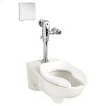 American Standard1.1 GPF Afwall System with EverClean AC Flush Valve - White