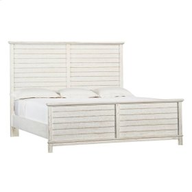 Coastal Living Resort Cape Comber Panel Bed Queen In Nautical White In Nautical White