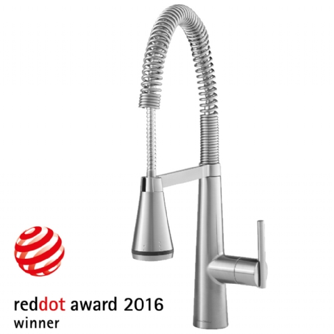 Edgewater Semi Professional Kitchen Faucet With Selectflo American