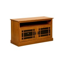 """44"""" Mission TV Stand w/opening"""