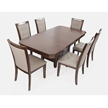 Manchester High/low Rect Dining Table With Four Chairs