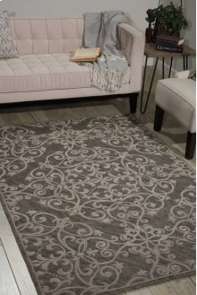 Damask Das01 Grey Rectangle Rug 2'3'' X 3'9''