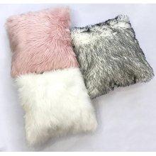 Fox faux fur pillow Rug