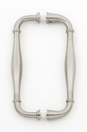 Charlie's Collection Back-to-Back Pull G726-6 - Satin Nickel