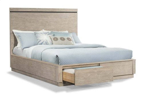 Larkspur Storage Platform Bed