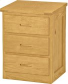 3 Drawer Table Product Image