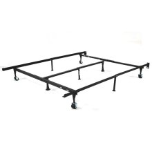 T/F/Q FOLDING METAL BED FRAME WITH CENTER SUPPORT