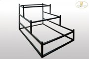 Metal Display Rack for Queen Bed Product Image