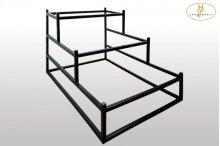 Metal Display Rack for Queen Bed