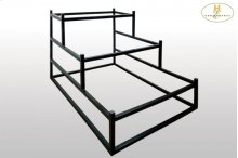 Metal Display Rack for Queen Bed