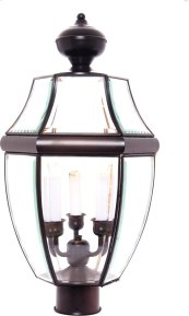 South Park 3-Light Outdoor Pole/Post Lantern