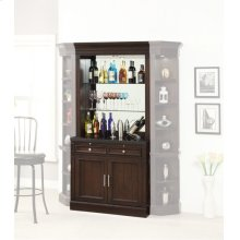 Stanford Two piece Bar Base and Hutch