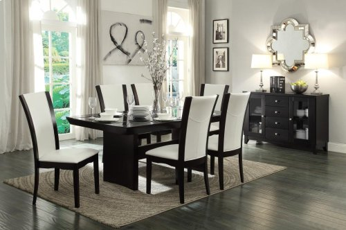 Side Chair, Dark Brown