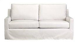 Slip Covered Sofa - Ivory Finish