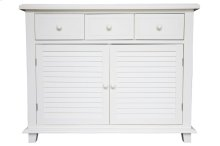 Buffet, Available in Cottage White Finish Only.