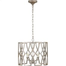 Visual Comfort NW5110VS Niermann Weeks Brittany 4 Light 20 inch Venetian Silver Foyer Lantern Ceiling Light, Niermann Weeks, Small
